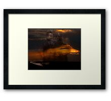 Vibration Series... LIFE AFTER LIFE Framed Print