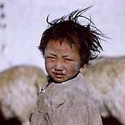 Tibetan Child by Richard Barry
