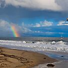 East Beach, Santa Barbara by Eyal Nahmias