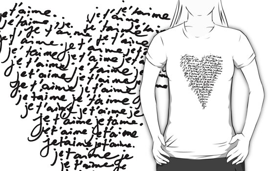 je t'aime ♥ i love you by TheLoveShop