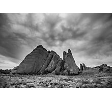 Angry Sky Over Fins – Arches National Park, Utah Photographic Print