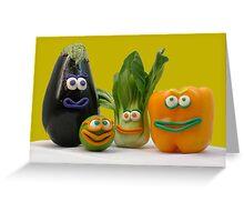 veggie tale  Greeting Card