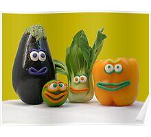 veggie tale  Poster