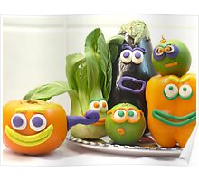 vegetable cacophony Poster