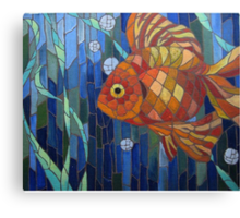 under the sea with a fish like me Canvas Print