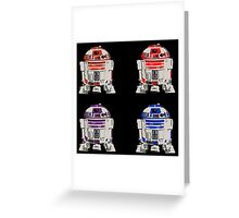 TEENAGE MUTANT NINJA ROBOTS Greeting Card