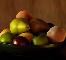 Precious Fruit Bowl by Sherry Hallemeier