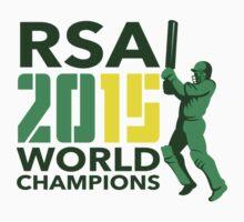 South Africa SA Cricket 2015 World Champions by patrimonio