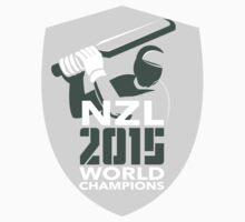 New Zealand Cricket 2015 World Champions Shield by patrimonio
