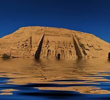 Flooding of Abu Simbel by Roddy Atkinson