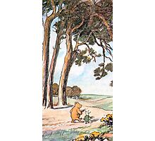 The Pooh Vintage Photographic Print