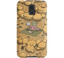 Collect ten flowers for a pavlova picnic Samsung Galaxy Case/Skin