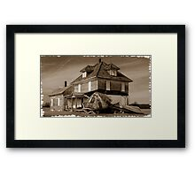 021709-22  ...ONCE PROUD... Framed Print