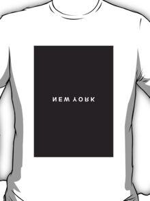 New York Minimalist Black & White Tee T-Shirt