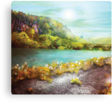 Fantasy landscape 2 Canvas Print