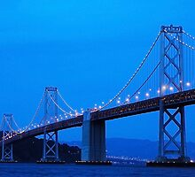 San Francisco Bay Bridge by Mick Burkey