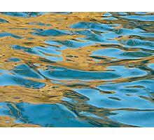 golden turquoise jewel  Photographic Print
