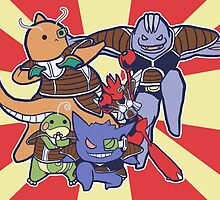 Pokemon Ginyu Force! by zerojigoku