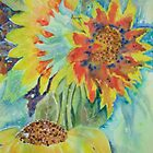 Sunflower Giants' : £100 by Patricia Welsh
