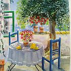 'Tea in the Shade' : £75 by Patricia Welsh
