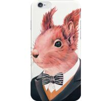 Red Squirrel iPhone Case/Skin