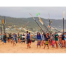 Lorne SLSC surf carnival Feb 2009 (56) Photographic Print
