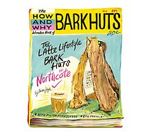 Latte-lifestyle Bark Huts by annahoyle