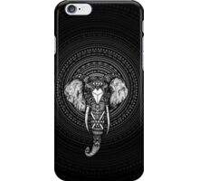 Circle Aztec Elephant iPhone Case/Skin