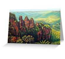 Timeless, Blue Mountains Greeting Card