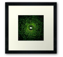 Power Of The Green Ring Framed Print