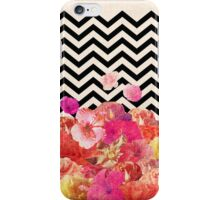 Chevron Flora  iPhone Case/Skin