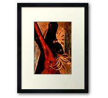 IN SEARCH OF BELIEF III Framed Print