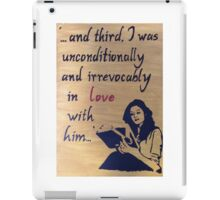 Unconditionally and Irrevocably  iPad Case/Skin
