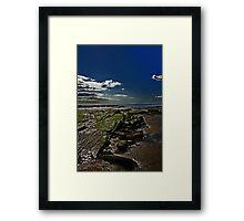 coastlines Framed Print