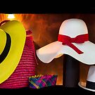 Panama Hats Are Made In Ecuador III by Al Bourassa