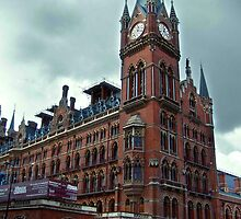 london st. pancras station by opiumfire