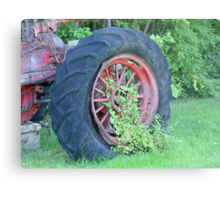 Tractor:  Retired Metal Print