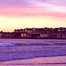 sunsetting on the coast of portstewart  by paul35
