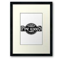 Baggins Pipe Weed Framed Print