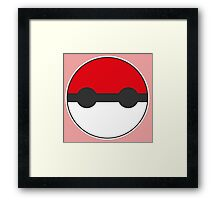 Pokemon Pokeball Baymax Inspired Framed Print
