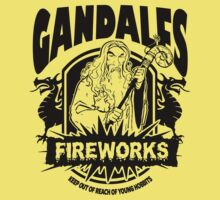Gandalfs Fireworks - Keep Out Of Reach Of Young Hobbits Kids Clothes