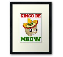 Cinco De Meow Framed Print