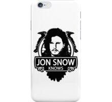 Jon Snow Knows iPhone Case/Skin