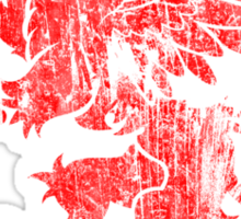 Old Red Dragon Sticker