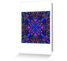 vibrant pattern Greeting Card