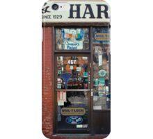 Barney's Hardware - New York City Store Sign Kodachrome Postcards  iPhone Case/Skin