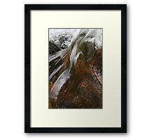 Moors water/ Paula Cattermole Framed Print