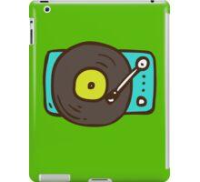 Hand Drawn Vinyl Record Turntable iPad Case/Skin