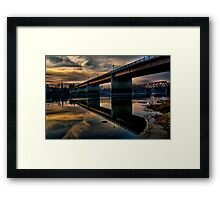 Bridge to Faith Framed Print