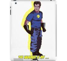 Captain Hammer  iPad Case/Skin